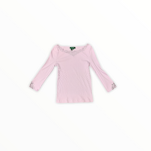Primary Photo - BRAND: LAUREN BY RALPH LAUREN STYLE: TOP LONG SLEEVE BASIC COLOR: LAVENDER SIZE: S SKU: 196-19681-72285