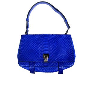 Primary Photo - BRAND:  CMA STYLE: HANDBAG DESIGNER COLOR: BLUE SIZE: MEDIUM OTHER INFO: PROENZA SCHOULER - NO HOLD OR DISCOUNTS MODEL NUMBER: PYTHON SHOULDER SKU: 196-14511-45955