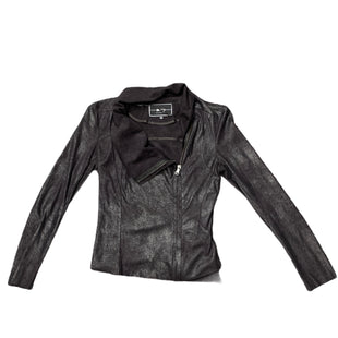 Primary Photo - BRAND: BLANC NOIRSTYLE: JACKET OUTDOOR COLOR: BLACK SIZE: S OTHER INFO: BLANC NOIR - SKU: 196-19666-15725