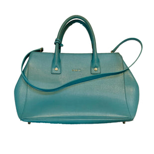 Primary Photo - BRAND: FURLASTYLE: HANDBAG DESIGNERCOLOR: BLUESIZE: MEDIUMSKU: 196-19681-58511