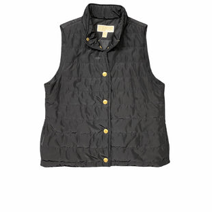 Primary Photo - BRAND: MICHAEL KORS STYLE: VEST DOWN COLOR: BLACK SIZE: M SKU: 196-14511-46743