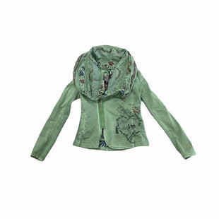 Primary Photo - BRAND: DESIGUAL STYLE: JACKET OUTDOOR COLOR: GREEN SIZE: S SKU: 196-19666-19372