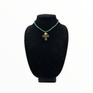 Primary Photo - BRAND: COOKIE LEE STYLE: NECKLACE COLOR: GREEN SKU: 196-196141-4525