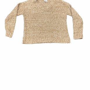 Primary Photo - BRAND: ANN TAYLOR LOFT STYLE: SWEATER HEAVYWEIGHT COLOR: SAND SIZE: L SKU: 196-196112-54880
