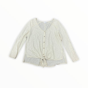 Primary Photo - BRAND: EYESHADOW STYLE: TOP LONG SLEEVE COLOR: CREAM SIZE: L SKU: 196-196132-2736