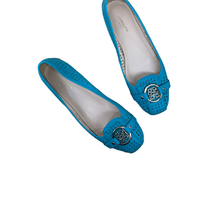Primary Photo - BRAND: LIZ CLAIBORNE STYLE: SHOES FLATS COLOR: AQUA SIZE: 8 SKU: 196-196142-176