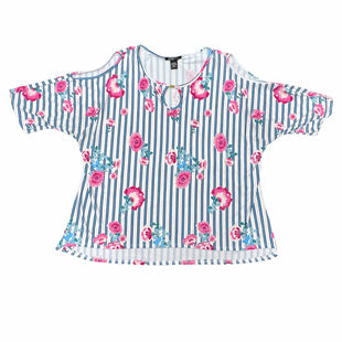 Primary Photo - BRAND: ROBERT LOUIS STYLE: TOP SHORT SLEEVE COLOR: PINK SIZE: XL OTHER INFO: BLUE SKU: 196-196141-4301