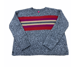 Primary Photo - BRAND: VINCE CAMUTO STYLE: SWEATER LIGHTWEIGHT COLOR: GREY RED SIZE: S SKU: 196-196145-1031