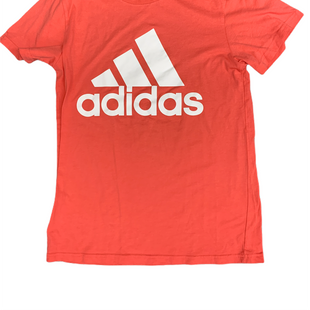 Primary Photo - BRAND: ADIDAS STYLE: ATHLETIC TOP SHORT SLEEVE COLOR: ORANGE SIZE: S SKU: 196-19694-35870