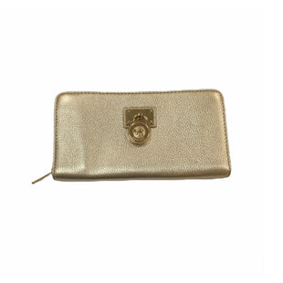Primary Photo - BRAND: MICHAEL KORS STYLE: WALLET COLOR: GOLD SIZE: LARGE SKU: 196-19681-71972