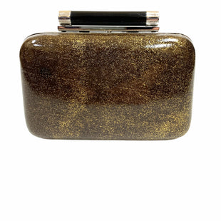 "Primary Photo - BRAND: DIANE VON FURSTENBERG STYLE: HANDBAG DESIGNER COLOR: MULTI SIZE: SMALL OTHER INFO: CLUTCH  GREEN/GOLD S SKU: 145-14521-131780DUST BAG INCLUDED5""X3"""