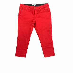 Primary Photo - BRAND:   WIT & WISDOMSTYLE: JEANS COLOR: RED SIZE: 18 OTHER INFO: WIT & WISDOM - PETITE SKU: 196-196112-58159