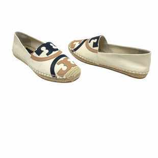 Primary Photo - BRAND: TORY BURCH STYLE: SHOES DESIGNER COLOR: CREAM SIZE: 7 OTHER INFO: POPPY SKU: 196-14511-47708