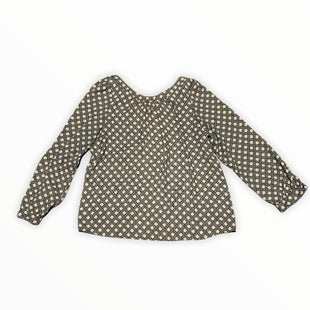 Primary Photo - BRAND: ANN TAYLOR LOFT STYLE: TOP LONG SLEEVE COLOR: BLACK WHITE SIZE: PETITE LARGE SKU: 196-196144-277
