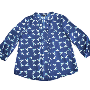 Primary Photo - BRAND: 41 HAWTHORN STYLE: TOP LONG SLEEVE COLOR: BLUE SIZE: M SKU: 196-196112-55744