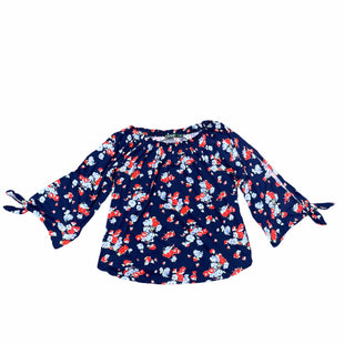 Primary Photo - BRAND: LAUREN BY RALPH LAUREN STYLE: TOP LONG SLEEVE COLOR: BLUE RED SIZE: XL OTHER INFO: OFF THE SHOULDER SKU: 196-196112-51848