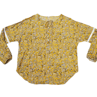 Primary Photo - BRAND:   STYLE: TOP LONG SLEEVE COLOR: YELLOW SIZE: S SKU: 196-196112-56221