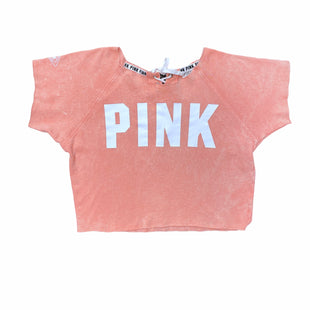 Primary Photo - BRAND: PINK STYLE: ATHLETIC TOP COLOR: PEACH SIZE: XS SKU: 196-19666-18015