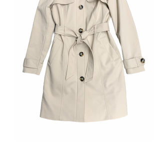 Primary Photo - BRAND: EXPRESS STYLE: COAT LONG COLOR: KHAKI SIZE: S SKU: 196-19666-17860