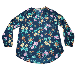 Primary Photo - BRAND: PLEIONE STYLE: TOP LONG SLEEVE COLOR: BLUE SIZE: S SKU: 196-19666-17206