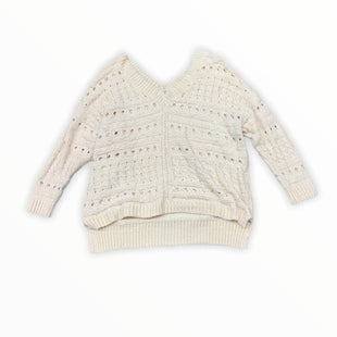 Primary Photo - BRAND: HONEY PUNCH STYLE: SWEATER HEAVYWEIGHT COLOR: CREAM SIZE: L SKU: 196-14511-46533
