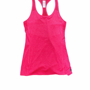 Primary Photo - BRAND: REEBOK STYLE: ATHLETIC TANK TOP COLOR: HOT PINK SIZE: XS SKU: 196-19694-34521
