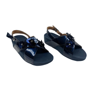 Primary Photo - BRAND: FITFLOP STYLE: SANDALS LOW COLOR: NAVY SIZE: 7 SKU: 190-190140-18618