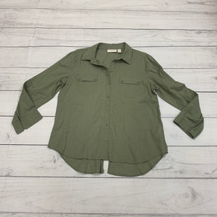 Primary Photo - BRAND: CHICOS STYLE: TOP LONG SLEEVE COLOR: OLIVE SIZE: L SKU: 196-19694-34238