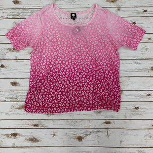 Primary Photo - BRAND: JONES NEW YORK STYLE: TOP SHORT SLEEVE COLOR: PINK SIZE: 3X SKU: 190-190140-15120