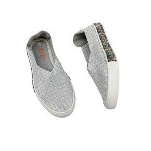 Primary Photo - BRAND: BERNIE MEV STYLE: SHOES FLATS COLOR: SILVER SIZE: 6.5 SKU: 190-190106-48178