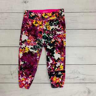 Primary Photo - BRAND: ADIDAS STYLE: ATHLETIC CAPRIS COLOR: FUSCHIA SIZE: S SKU: 196-19666-15545