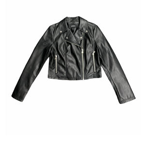 Primary Photo - BRAND: EXPRESS STYLE: JACKET OUTDOOR COLOR: BLACK SIZE: M SKU: 196-19666-17859