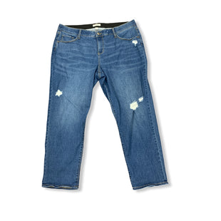 Primary Photo - BRAND: AVA & VIV STYLE: JEANS COLOR: BONE SIZE: 20 SKU: 196-19666-17144