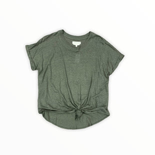 Primary Photo - BRAND: LOU AND GREY BY LOFT STYLE: TOP SHORT SLEEVE BASIC COLOR: GREEN SIZE: M SKU: 196-14511-47454
