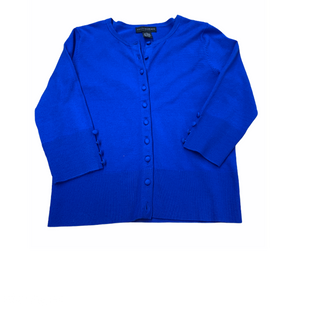 Primary Photo - BRAND: GRACE ELEMENTS STYLE: SWEATER CARDIGAN LIGHTWEIGHT COLOR: ROYAL BLUE SIZE: PETITE   SMALL OTHER INFO: SMALL PETITE SKU: 196-196112-50344