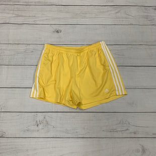 Primary Photo - BRAND: ADIDAS STYLE: ATHLETIC SHORTS COLOR: YELLOW SIZE: XL SKU: 196-196141-4285