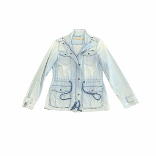 Primary Photo - BRAND: MAX JEANS STYLE: JACKET OUTDOOR COLOR: DENIM BLUE SIZE: XS SKU: 196-196112-57967