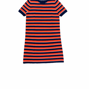 Primary Photo - BRAND: J CREW STYLE: DRESS SHORT SHORT SLEEVE COLOR: ORANGE BLUE SIZE: M OTHER INFO: NEW! SKU: 196-14511-47472