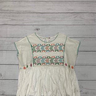 Primary Photo - BRAND: FREE PEOPLE STYLE: TOP SHORT SLEEVE COLOR: CREAM SIZE: XS SKU: 196-14511-45842