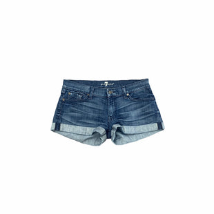 Primary Photo - BRAND: SEVEN FOR ALL MANKIND STYLE: SHORTS COLOR: DENIM BLUE SIZE: 6 SKU: 196-196112-58679