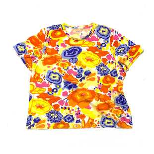 Primary Photo - BRAND: LIZ CLAIBORNESTYLE: TOP SHORT SLEEVE BASICCOLOR: FLORALSIZE: 3XSKU: 196-196112-47858