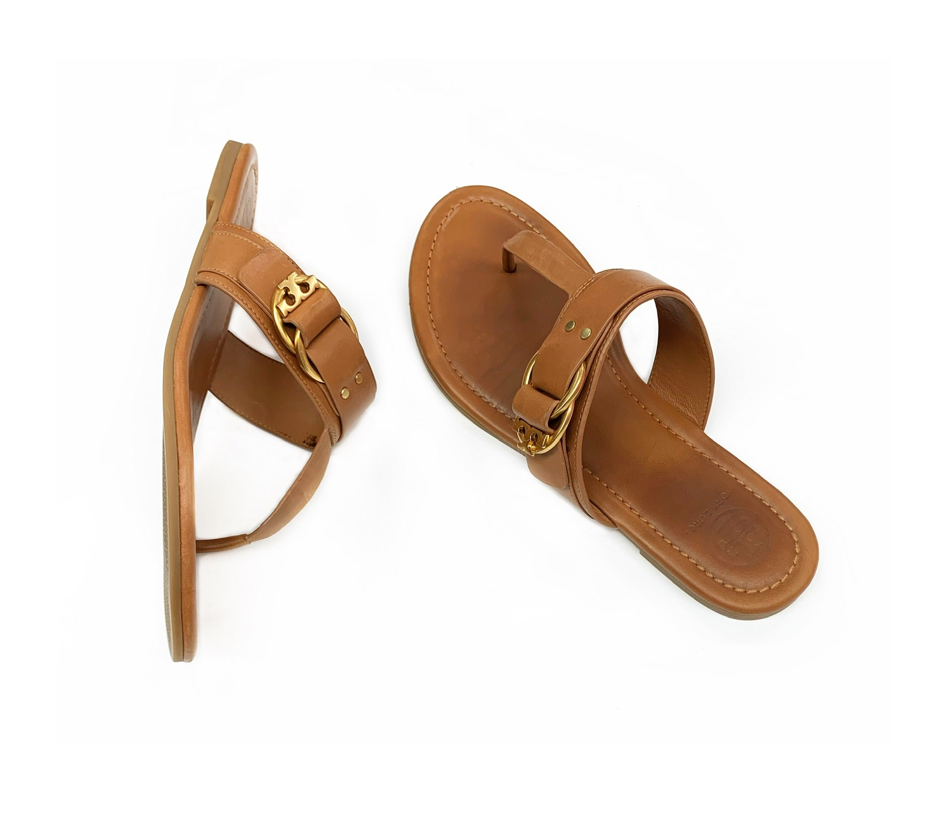 Primary Photo - BRAND: TORY BURCH<BR>STYLE: SHOES DESIGNER<BR>COLOR: CAMEL<BR>SIZE: 7.5<BR>SKU: 196-19681-66093