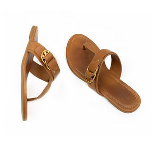 Primary Photo - BRAND: TORY BURCHSTYLE: SHOES DESIGNERCOLOR: CAMELSIZE: 7.5SKU: 196-19681-66093