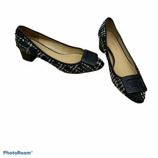 Primary Photo - BRAND: TALBOTS STYLE: SHOES LOW HEEL COLOR: BLACK WHITE SIZE: 7 SKU: 196-19681-73942