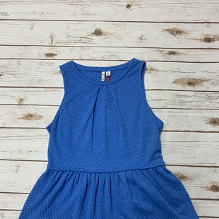 Primary Photo - BRAND: ELLE STYLE: TOP SLEEVELESS COLOR: BLUE SIZE: M SKU: 196-196112-50729