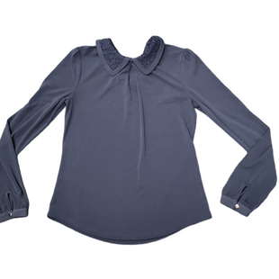 Primary Photo - BRAND: ANN TAYLOR STYLE: TOP LONG SLEEVE COLOR: BLUE SIZE: S SKU: 196-14511-48147