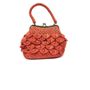 Primary Photo - BRAND: PATRICIA NASH STYLE: HANDBAG DESIGNER COLOR: CORAL SIZE: SMALL SKU: 196-196112-51822