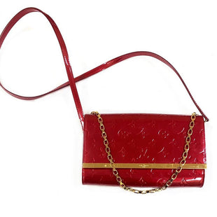 Primary Photo - BRAND: LOUIS VUITTONSTYLE: HANDBAG DESIGNERCOLOR: REDSIZE: SMALLOTHER INFO: ANA POMME DAMOURSKU: 196-19681-65537