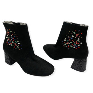 Primary Photo - BRAND: BETSEY JOHNSON STYLE: BOOTS KNEE COLOR: BLACK SIZE: 8.5 SKU: 196-196141-4781