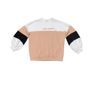 Primary Photo - BRAND:    MISSGUIDEDSTYLE: SWEATER LIGHTWEIGHT COLOR: WHITE SIZE: S OTHER INFO: BROWN AND BLACK SKU: 196-196145-3188